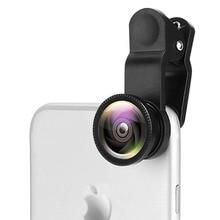Special Effects Mobile Phone Lens HD 3-in-1 Wide Angle Fisheye Lens External Macro Camera  For iPhone Smartphone Accessories цена в Москве и Питере