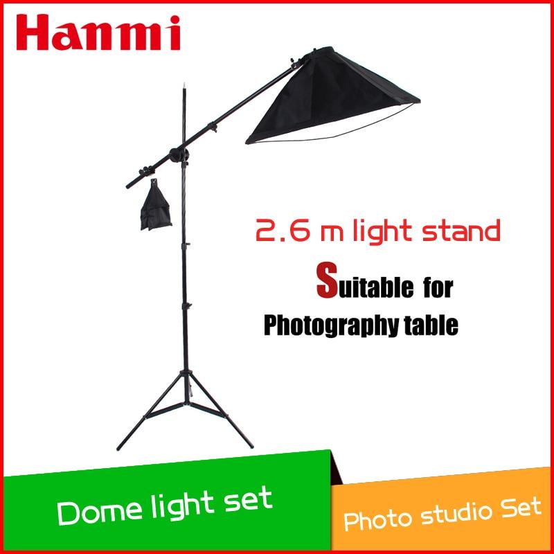 2014 Nieuwe set voor fotografietafelset, inclusief lichtstatief, - Camera en foto