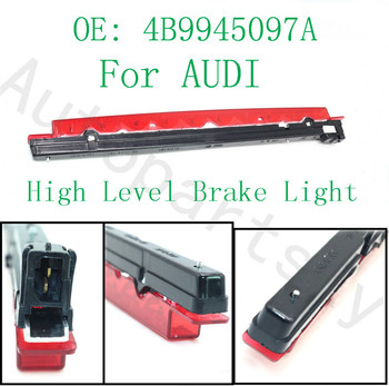 Very Good Quality - Third Brake Light With Screw Covers For Audi A6 C5 Wagon Avant Allroad Part # 4B9945097A 4B9-945-097-A