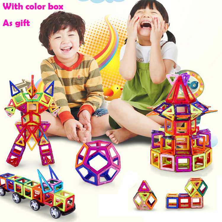 Magnetic Toys For Toddlers : Pcs magnetic blocks toy kids educational toys