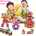 24 56 70PCS Magnetic Blocks Toy Kids Educational Toys Creative Bricks Toy For Children 3D DIY Building Magnetic Toys Blocks Set