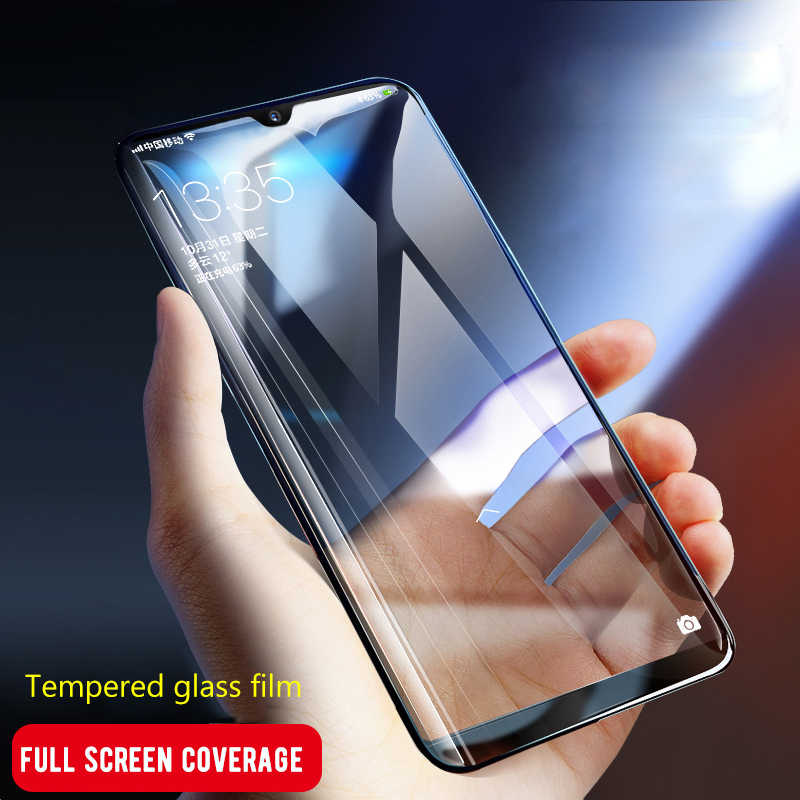 Full Cover Tempered Glass For Samsung Galaxy A50 A30 A90 A60 A80 A70 A40 A10 A20 E Screen Protector For Samsung M40 M30 M20 M10