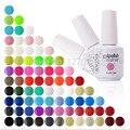 15 ml Arte Clavo Más Nuevo de Colores Elegir (22 Colores Gel de Imprimación + Capa Superior) Granel de Pintura ULTRAVIOLETA del Gel Empapa Del Gel Del Clavo Pulimento Del Gel Empapa de