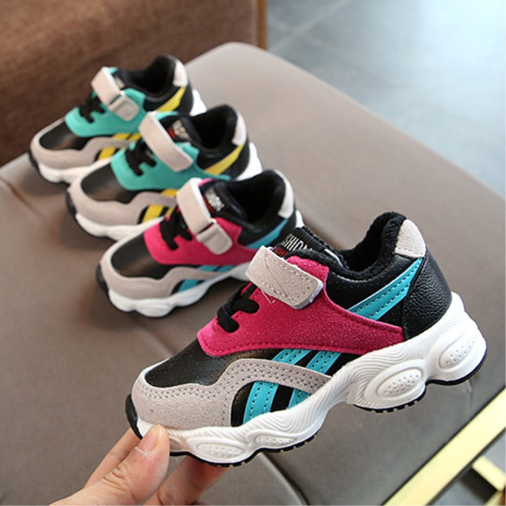 2019 Winter Children Shoes Boys Sports Shoes Fashion Brand Sport Breathable Outdoor Kids Sneakers Boy Running Shoes