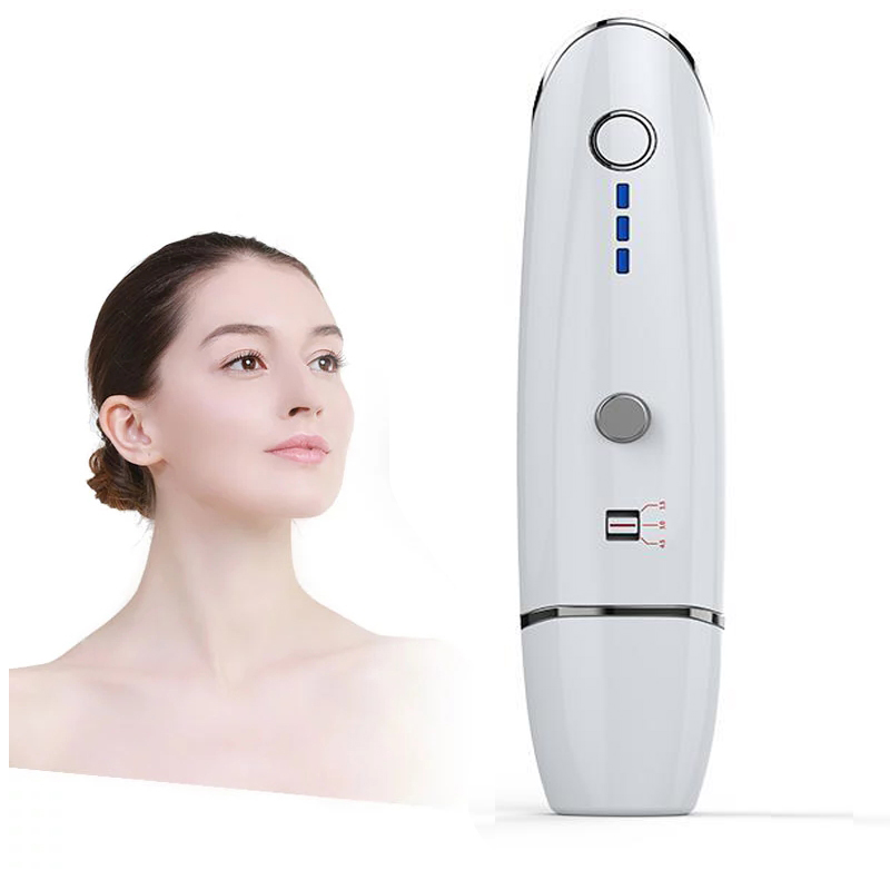 Mini Hifu Ultrasonic RF Face Lifting Wrinkle Removal Home Use Beauty Machine  Radar Line Carving V Face Skin Tightening Tool