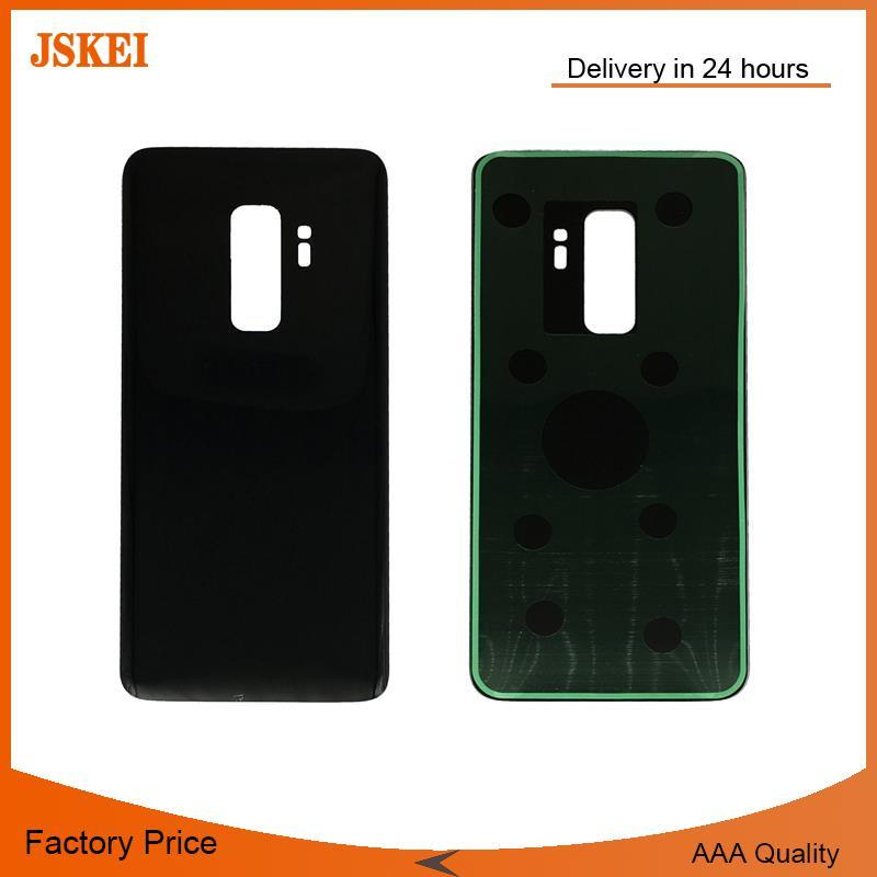 Mobile Phone Housing For Samsung Galaxy S9 G960 G960F Rear Battery Back Door Glass Cover With Adhesive Repair Parts