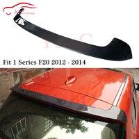 F20 M performance Style Carbon Fiber Rear Spoiler for BMW 1 Series F20 2012 2014 5 door Hatchback Rear Spoiler Trunk Boot Lip