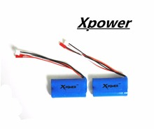 2pcs 7.4 V 1500mah Xpower li-po lipo battery for DH9053 9101 mjx f45 9118 rc Helicopter parts