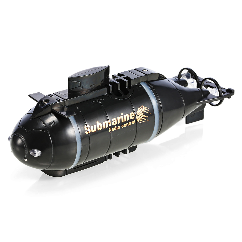 Wireless 40MHz Remote Control Mini Submarine Pigboat Model Toy RC Submarine Remote Control Drone Pigboat Simulation Gift