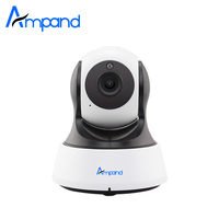 Ampand 1080P HD WIFI IP Camera Night Vision Video Recording Indoor Baby Monitor App Remote View