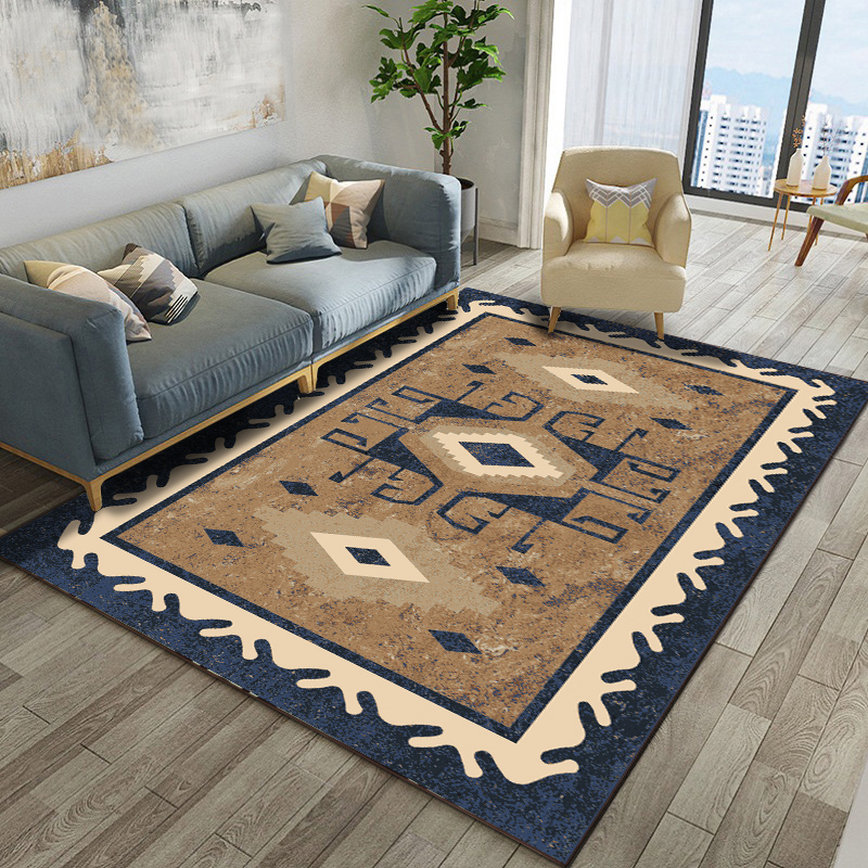Retro Bohemia Style Carpets For Living Room Sofa Coffee Table Big Area Rugs Bedroom Bedside Full Shop Rectangle Floor Mat Carpet