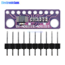 ADS1115 Module 16 Bit IIC I2C 4 Channel ADC with Pro Gain Amplifier 2V To 5V Auto Shut Dow