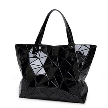 Fashion Diamond Women Bao Bao Bags Geometry Quilted baobao Handbag bag Women 2016 Geometric tote Quilted Laser Shoulder Bag