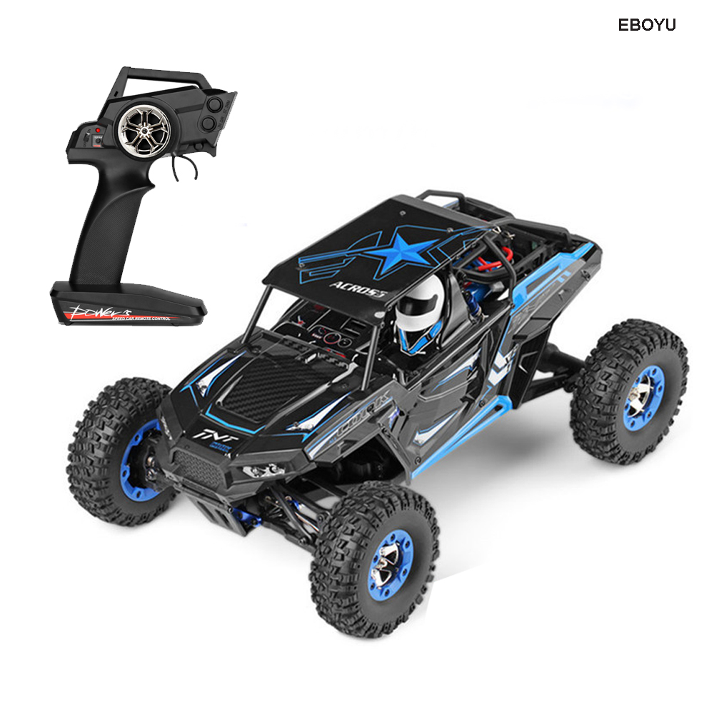 <font><b>WLToys</b></font> 12428B 2.4Ghz 50KM/H Off-Road Vehicle Toy Radio Controlled Polaris Car 1/12 Proportion RC Truck 4WD High Speed Race Car image