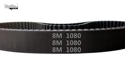 цена на high quality 1080 HTD 8M 30 Timing belt length 1080mm width 30mm pitch 8mm teeth 135 Rubber HTD8M STD S8M Timing belts