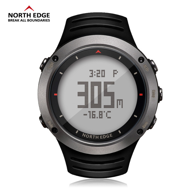 NORTH EDGE Men's sport Digital watch Hours Running Swimming sports watches Altimeter Barometer Compass Thermometer men 2