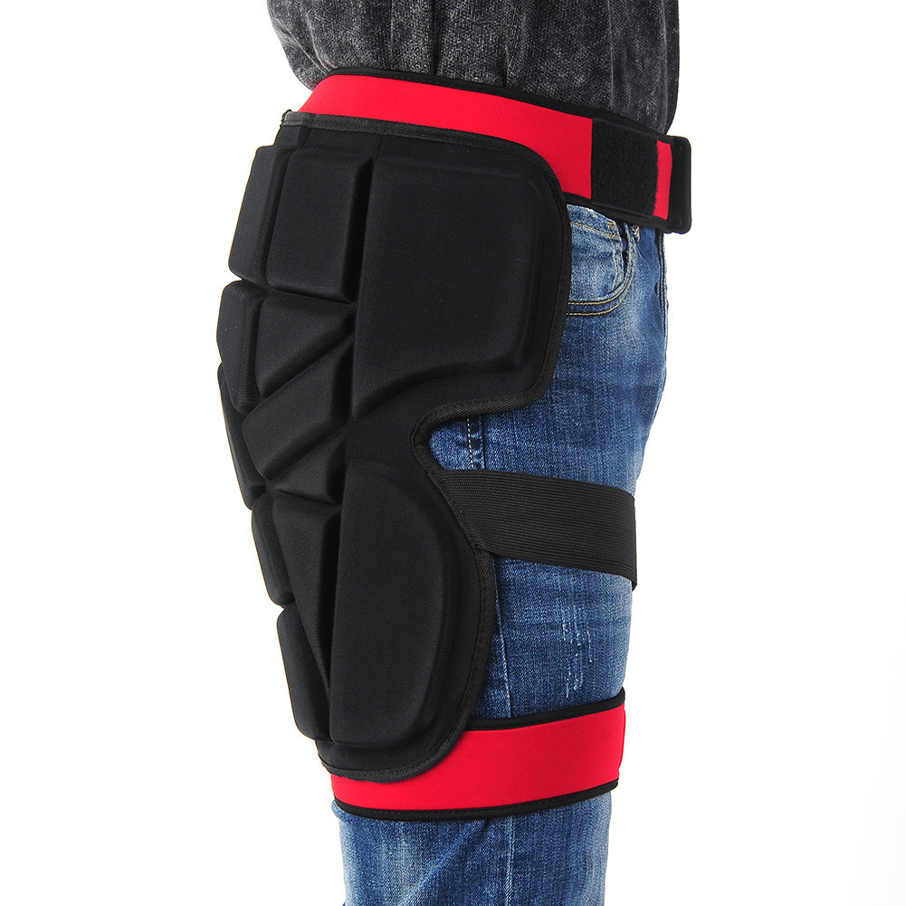 Butt Hip Pad Protective Shorts Skiing Snowboard Protection Shorts Padded Snowboarding Skating Gear Guard Protector 5pcs in 1 outdoor sports protection skiing hip pad knee pads wrist support palm for roller skating snowboard protection black
