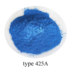 type 425A Super shiny pearl powder, colorful  nail, ink, toys, handicrafts, fishing rod dyeing, 50 grams per bag
