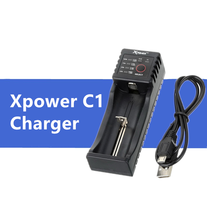 Xpower C1 Smart Universal Batterie Ladegerät li-auf Ni-Mh Li-fe batterie, power bank funtion vs xtar nitecore <font><b>opus</b></font> liitokala lii-100 image