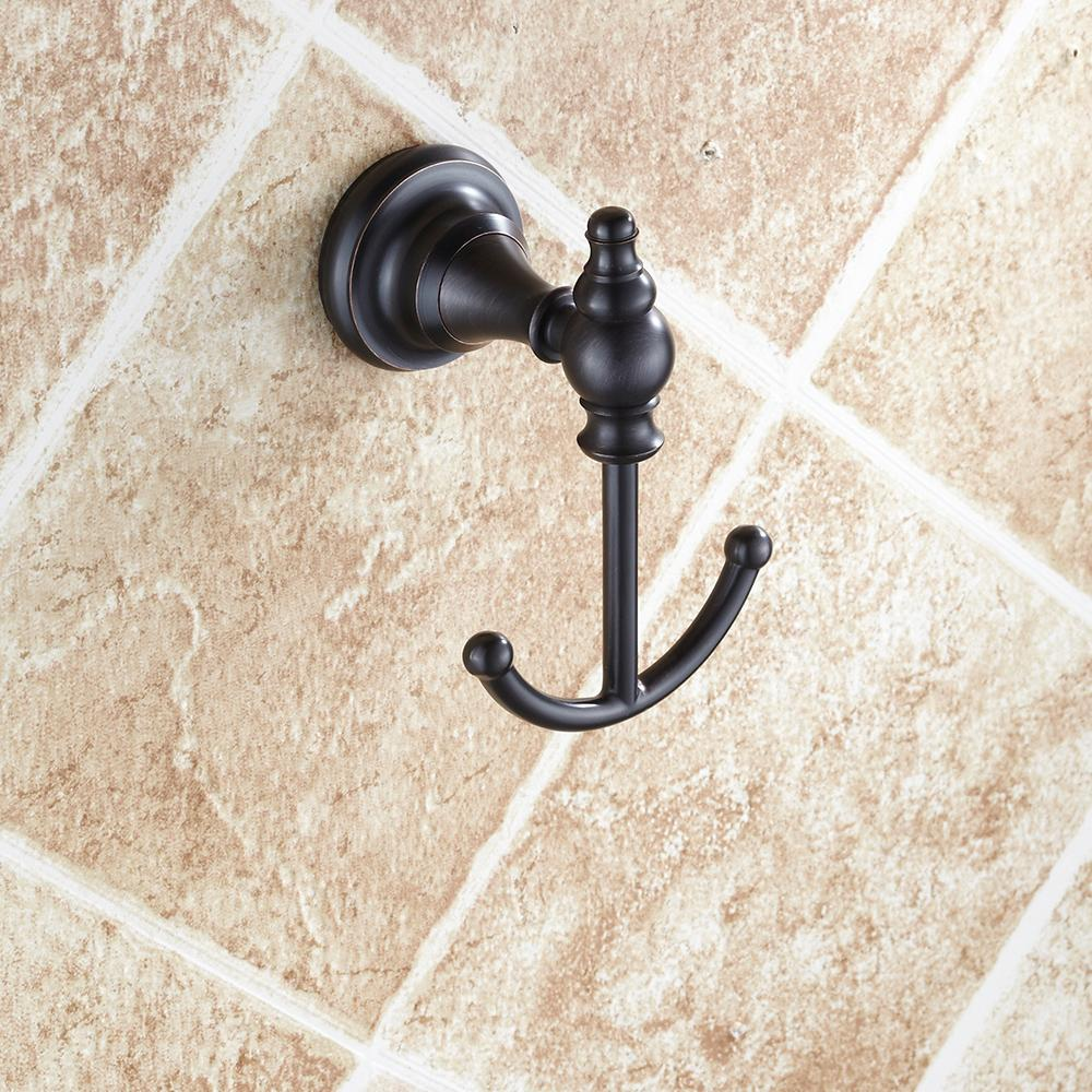 4pcs Bath Hardware Set Vintage Towel Bars Robe Hook Toilet Paper ...