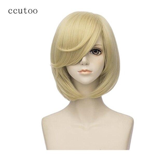 Ccutoo Yuri On Ice Plisetsky Yuri 35cm Light Golden Blonde Short