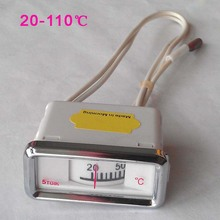 20-110 Celsius thermometer for water boiler or heater pointer type no power supply needed