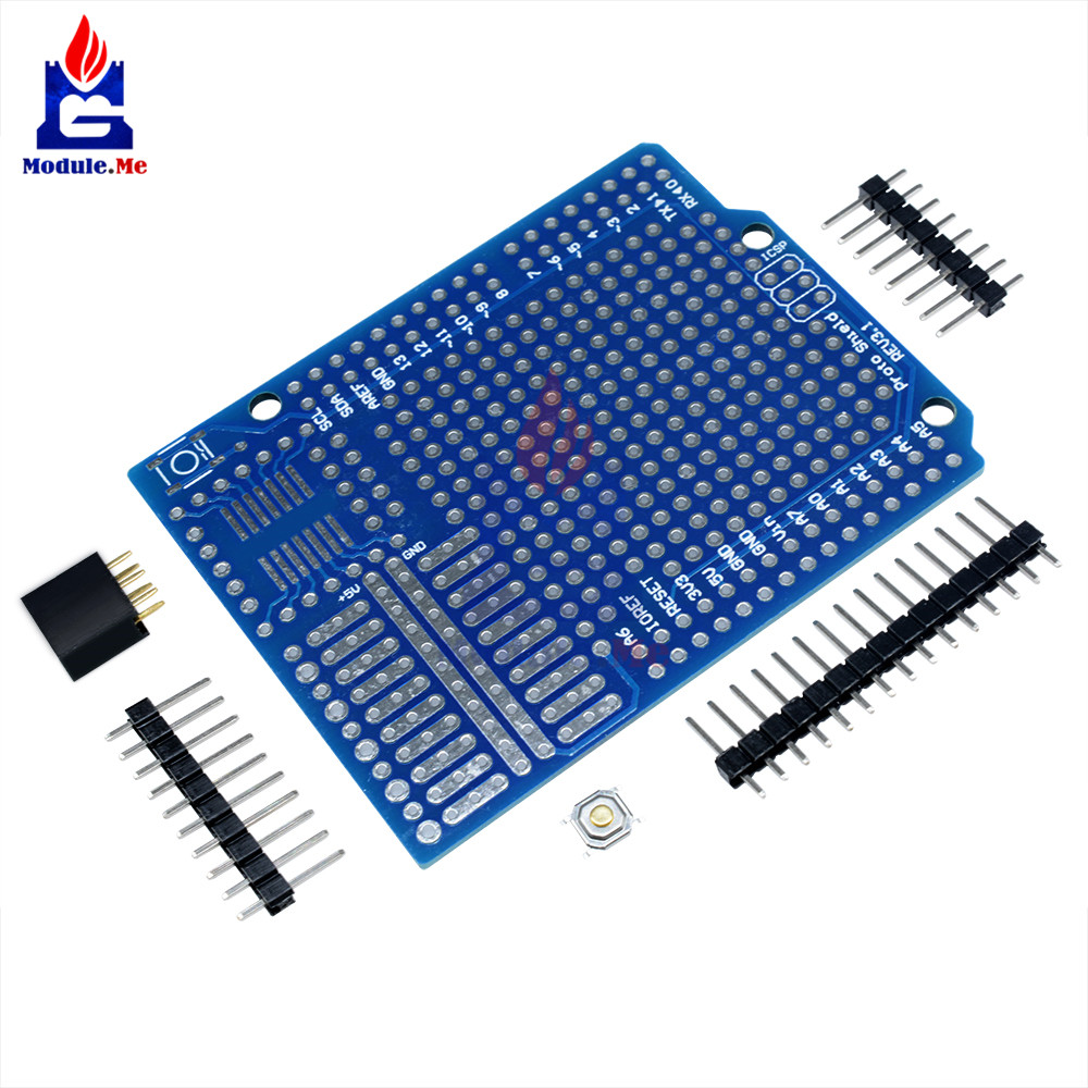 Proto Screw Shield Board Arduino Compatible Improved version support A6 A7 K9