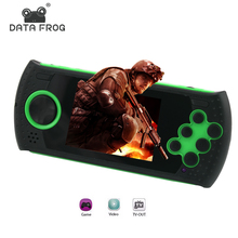 Portable 3 Inch 16 Bit Handheld Game Console Players Build In 100 Classic Game PVP PXP