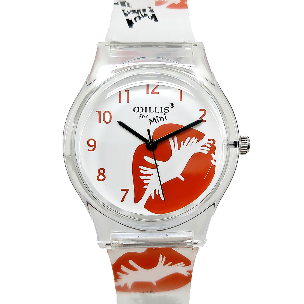 WILLIS Fashion Women Watches Lips Bracelet Jelly Strap Watch Hot Sale Ladies Quartz Clock Children Gift Girls Kids Wristwatches fashion brand children quartz watch waterproof jelly kids watches for boys girls students cute wrist watches 2017 new clock kids