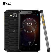 E & L S50 4 г LTE Водонепроницаемый противоударный смартфон Android 6.0 MT6753 Восьмиядерный 3 + 32 г IP68 мобильный телефон разблокирован dual sim 2900 мАч