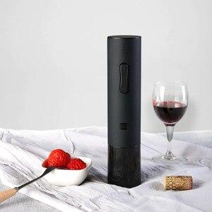 Image 3 - Youpin Huohou Automatische Wein Flasche Öffner Elektrische Korkenzieher Mit Folie Cutter USB Aufladbare Lithium Batterie Geräuscharm