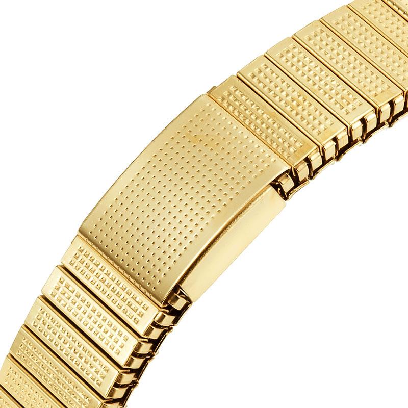 c1d8ff58d55c Escalus Color oro iónica de elástico mujeres magnético de imitación ...