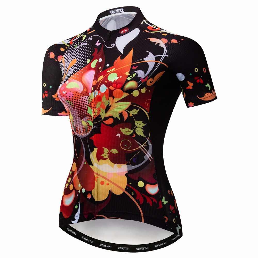 2019 Спортивная кофта weimostar для мотоспорта женские майки для велосипеда шоссейные MTB велосипедные рубашки с коротким рукавом Одежда для велосипедных гонок Топы дышащие синие белые