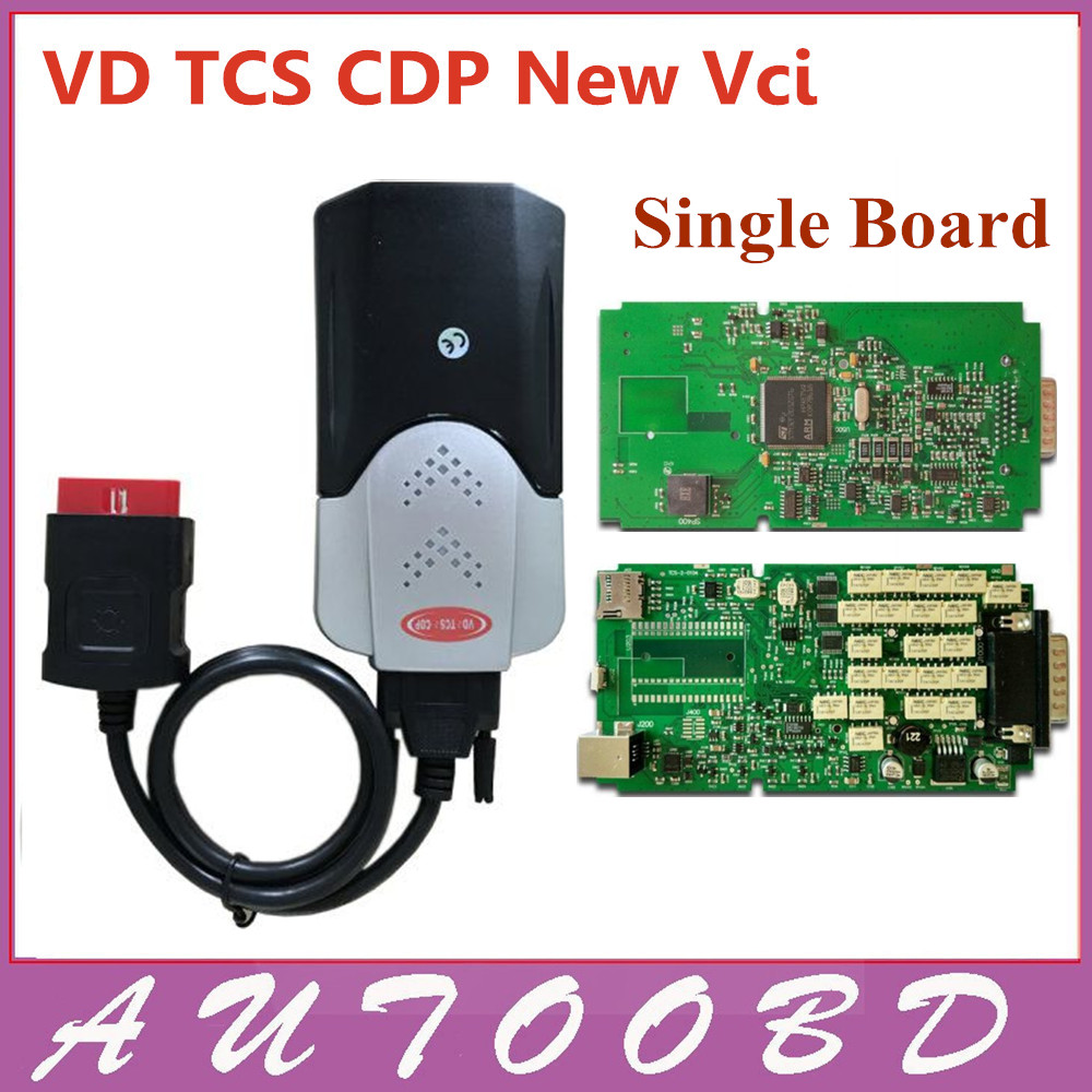 DHL Free+ New model without Bluetooth function mvd VD TCS CDP pro single board green pcb new vci cdp PRO CARs TRUCKs scan tools new arrival new vci cdp with best chip pcb board 3 0 version vd tcs cdp pro plus bluetooth for obd2 obdii cars and trucks
