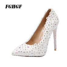 Summer WomenS High Heels Fashion Leisure Time Crystal Mosaic Translucent Light Comfortable Wear