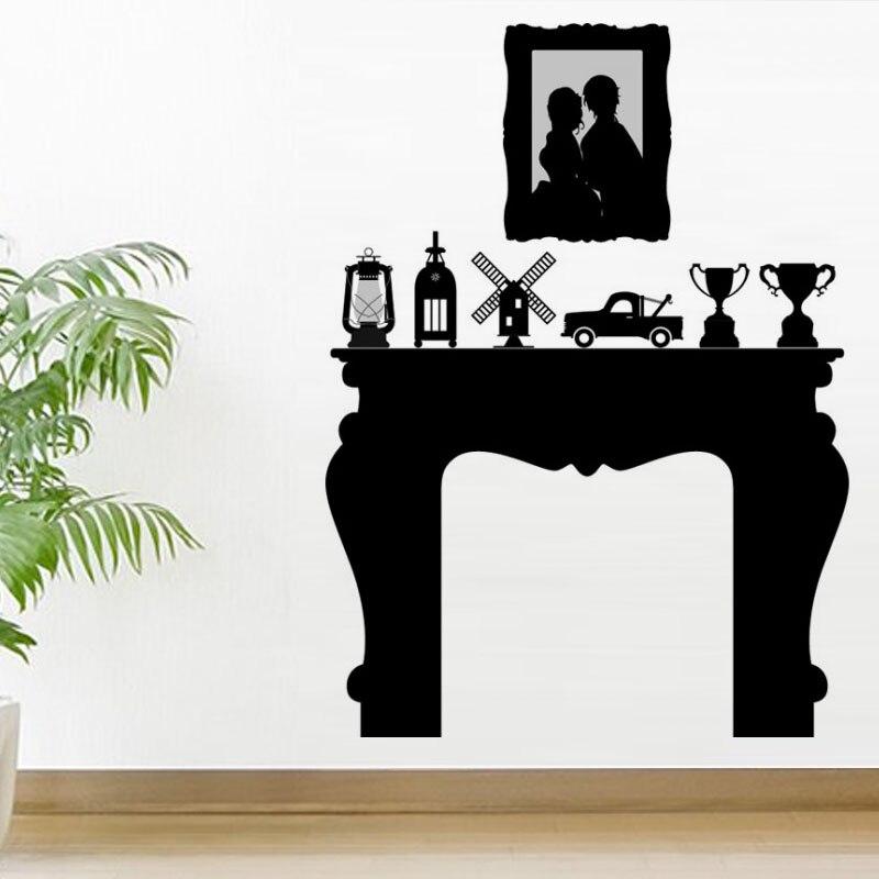 Most Popular Vinyl Art Home Decor Trophies Fireplace Wall Sticker
