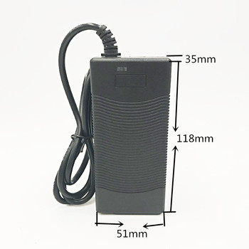 Wysokiej jakości 29.4 V 2A rower elektryczny bateria litowa ładowarka do 24 V 2A bateria litowa wtyczka RCA złącze ładowarki