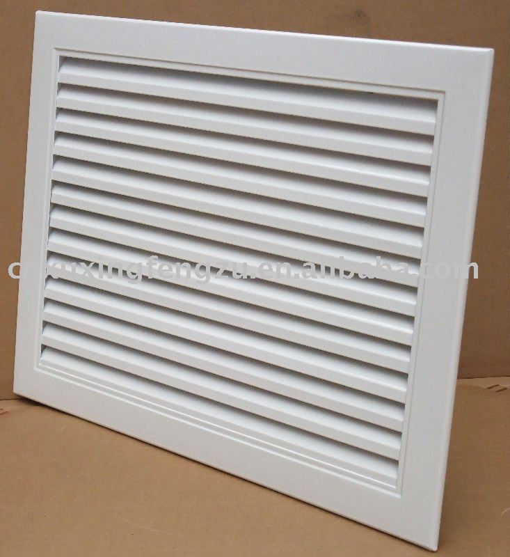 Air Conditioning Return Grilles : Fixed return air grille in conditioner parts from home