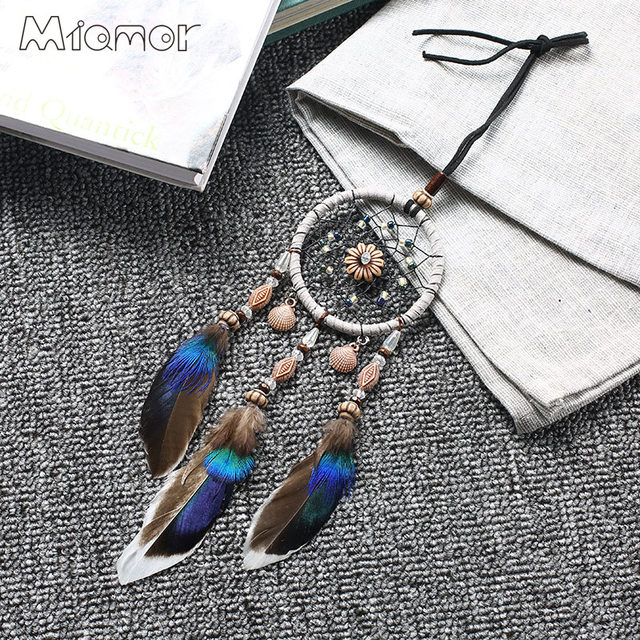 Online Shop 40 Colors Small Shells Dreamcatcher Wind Chimes Car Extraordinary Small Dream Catchers For Sale
