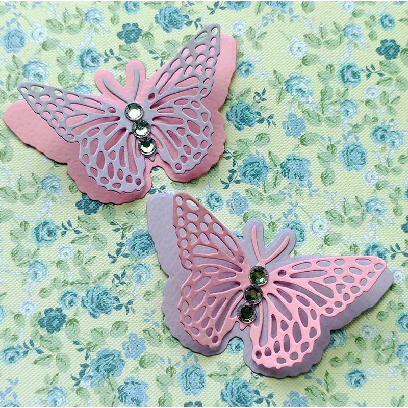 Dies Scrapbooking 3d Butterfly Metal Cutting Dies Stamps