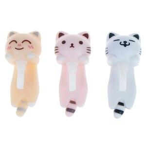 Cute Cat Anti Dust Plug 3.5mm Mobile Phone Earphone Jack Dust Plug Phone Accessories For Smart Phone 3 Colors
