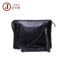 2017 New Bag Casual Men's Genuine Leather Small Shoulder Bag Fashion Cluth Ipad Bag Messenger Crossbody Bag  for Men Male 1601