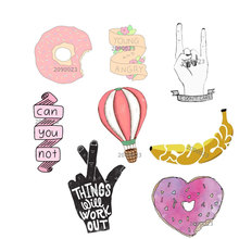 1 PC Cartoon Tools and hands pin Badge Acrylic Badges for Clothes Icons on The Backpack Decoration
