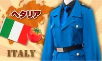2016 oferta especial envío gratis Real envío gratis Unisex adulta paño uniforme Modal potencias del eje Hetalia italia Cosplay