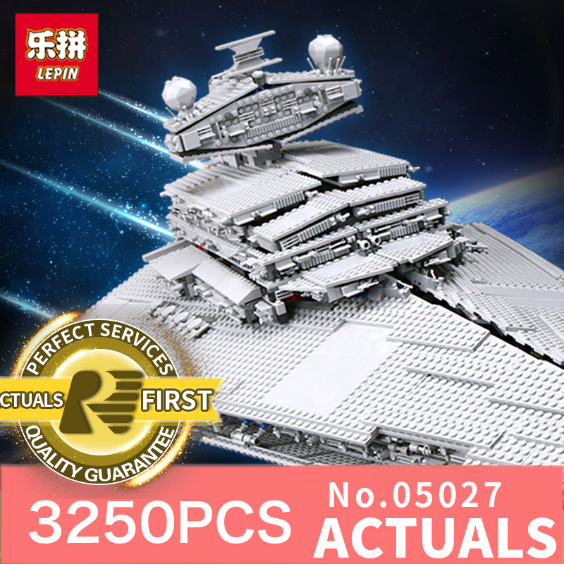 Star Wars Classic Lepin 05027 Emperor Fighters Starship Model Building Kits Blocks Diy Bricks Toys for boys LegoINGlys 10030 star wars boys black