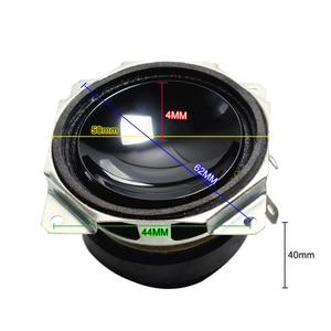 Image 2 - 2 Pcs 2 นิ้ว 52 มม. Mini แบบพกพาลำโพง 8 Ohm 15 W Full Range ลำโพงมัลติมีเดียซับวูฟเฟอร์ DIY สำหรับระบบโฮมเธียเตอร์