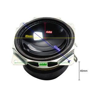 Image 2 - 2 pièces 2 POUCES 52 MM Mini Audio Haut parleurs Portables 8 Ohms 15 W Gamme Complète Haut Parleur Multimédia Subwoofer bricolage Pour Système de Son Home Cinéma