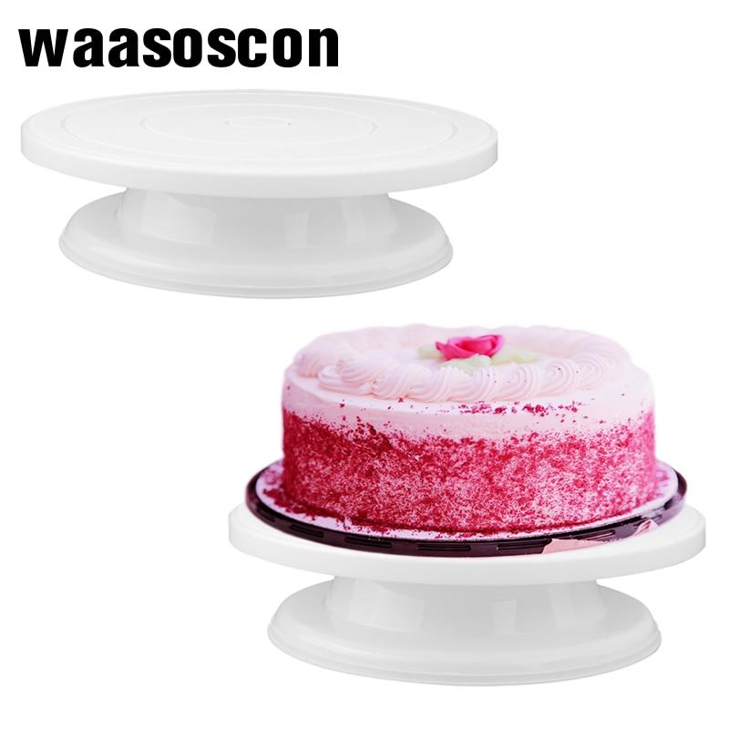 Cake Base Cake Rotating Cake Stand Decorating Tools Sugar Craft Turntable Platform Cupcake Swivel Plate Revolving Baking Tools