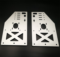 2pcs* OX CNC taller gantry plate kit Y gantry 10mm thickness 29cm height Taller Y Gantry Plates for the OX CNC