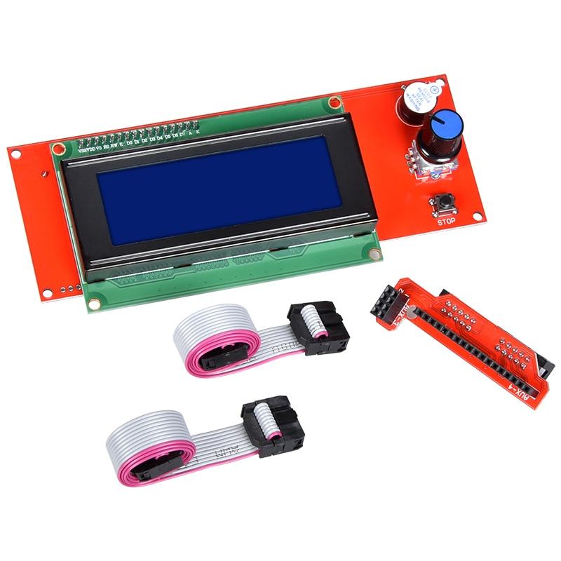 1 stücke 2004 LCD Display 3D Drucker Reprap Smart Adapter Controller Reprap Rampen 1,4 1,6 Mega2560 bord 2004LCD Control